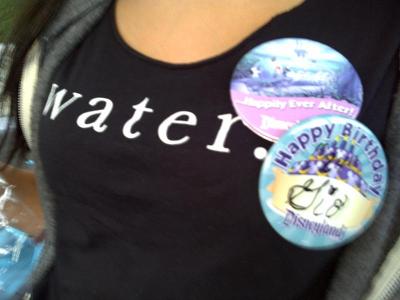 Charity:water birthday celebration @ Disneyland!